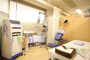 陳鍼灸整骨院 診察室